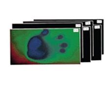 Temperature Sensitive Liquid Crystal Sheets