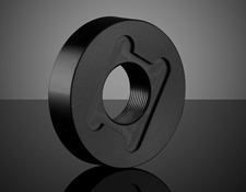 12.5mm Square Polarizer Adapter, 25.0mm Outer Diameter