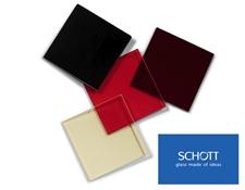 SCHOTT Colored Glass Longpass Filters