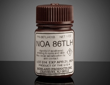 Norland Optical Adhesive NOA 86TLH, 1 oz. Application Bottle, #14-797