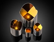 Replicated Hollow Metal Retroreflectors