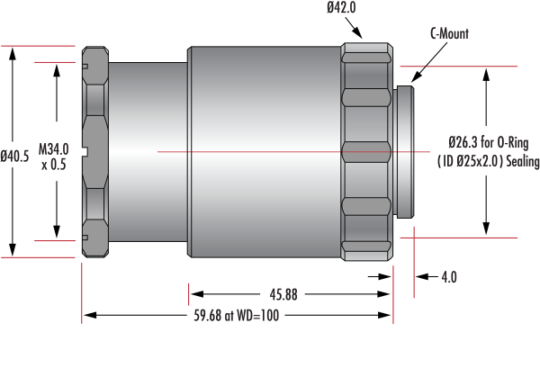 35mm Cw Series Fixed Focal Length Lens